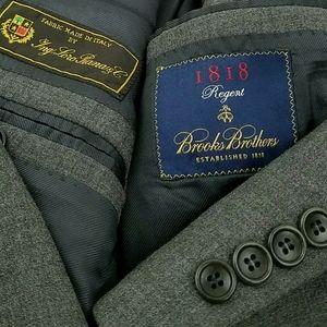 42L Brooks Brothers Regent Loro Piana Wool Suit
